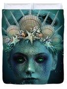 The Siren Duvet Cover by Marianna Mills