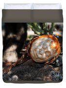 The Sleeping Pumpkinman  Duvet Cover
