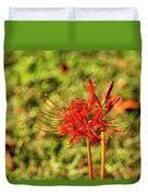 The Spider Lily Duvet Cover