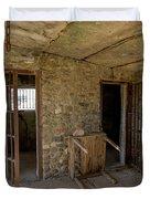 The Stone Jailhouse Interior Duvet Cover