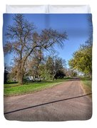 The Streets Of Bruce. Duvet Cover