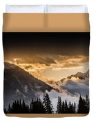 The Sun Is Coming Duvet Cover