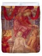 The Temple Of Love Duvet Cover