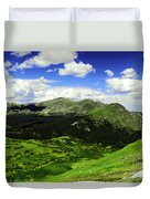 The Top Of Independence Pass Duvet Cover
