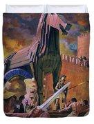 The Trojan Horse Duvet Cover