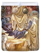 The Vision Of Saint Catherine Duvet Cover