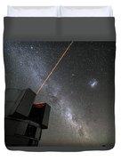 The Vlts Laser Guide Star Duvet Cover