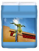 The Woofus - State Fair Of Texas Duvet Cover
