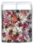 Thermal Fractures Duvet Cover