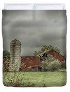 Threatening Skies Duvet Cover by Judy Hall-Folde