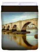 Three Bridges. Duvet Cover