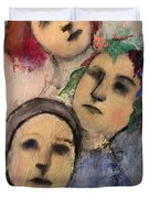 Threes Duvet Cover