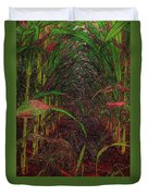 Cathedral Of Corn Duvet Cover
