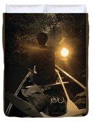 Through The Darkest Nights Duvet Cover