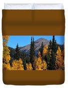 Thunder Mountain Aspens Duvet Cover