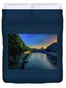 Tiber Evening Duvet Cover