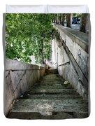Tiber Steps Duvet Cover