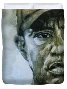 Tiger Woods - On The Road Again  Duvet Cover