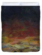 Tiny Sunset Duvet Cover