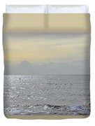 To See The Sea Duvet Cover