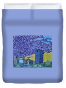 Toledo, Ohio Duvet Cover