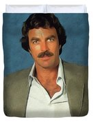 Tom Selleck, Actor Duvet Cover