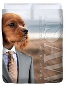 Top Dog Magazine Duvet Cover by ISAW Company