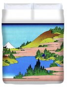Top Quality Art - Mt,fuji36view-soshu Hakone Kosui Duvet Cover