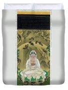 Top Quality Art - White Robed Kannon Duvet Cover