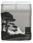 Tree And Tower Duvet Cover
