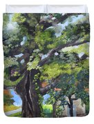 Tree At Cartecay Duvet Cover