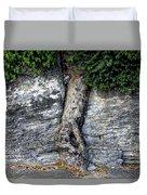 Tree In Stone Duvet Cover