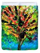 Tree Of Faith Duvet Cover