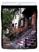 Tremont Street Boston Duvet Cover