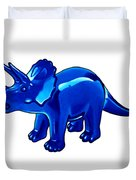 Triceratops Cartoon Duvet Cover