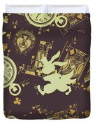 Tricks And Illusions Duvet Cover