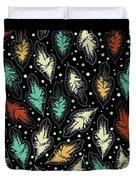Tropical Design Pattern Duvet Cover
