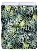 Tropical Leaves I Duvet Cover