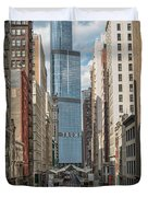 Trump Tower Duvet Cover