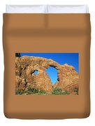 Turret Arch With Moon Duvet Cover