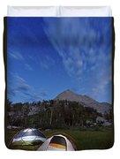 Twilight Camping Duvet Cover