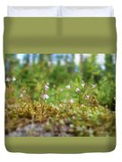 Twinflower Forest Duvet Cover