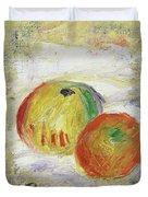 Two Apples, 1875 Duvet Cover