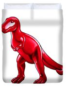 Tyrannosaurus Cartoon Duvet Cover