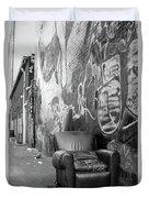U Street Chair Washington Dc Duvet Cover