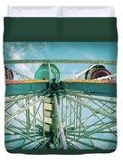 Under The Ferris Wheel Duvet Cover