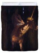 Unicorn 1885 Duvet Cover