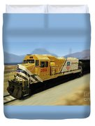 Union Pacific 2014 At Work Duvet Cover