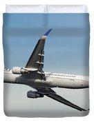 United Airlines Boeing 767-322 Duvet Cover