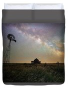 Up In The Country  Duvet Cover